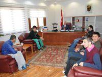 Zihinsel Engelli Çocuklar'dan Başkan Genç'e Ziyaret