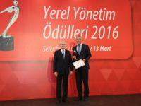 Mezitli Belediyesi'nin Kadın Üretici Pazarı'na Sodem'den 'yılın Projesi' Ödülü