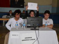 Anamur'da liseler arası bilgi yarışması düzenlendi