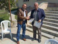 Mut'ta Çiftçiye Sertifika Ve Zeytin Fidanı Dağıtıldı