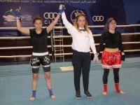 """Erdemli'de """"Muay Thai Bahar Kupası Turnuvası"""" nefes kesti"""
