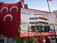 MHP Anamur İlçe Teşkilatı'nın yeni binasının temeli atıldı