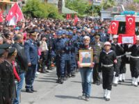 Anamur'da Şehit Halis Uysal son yolculuğuna uğurlandı