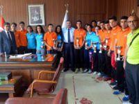 Mersin Spor Lisesi'nden gurur ziyareti