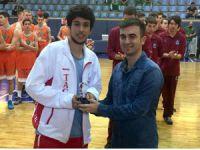 Anadolu basketbol şampiyonası sayı kralı Tarsus'tan çıktı