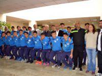 Akdeniz Belediyesi U15 Futbol Takımı Türkiye Şampiyonu
