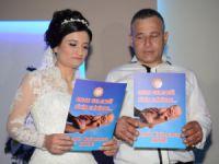 """Polis Dinçer, düğün gününde de """"Madde Bağımlılığına Hayır"""" dedi"""