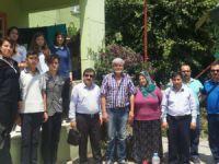 Şehit İbrahim Armut Fen Lisesi'nden Şehit Ailesine Ziyaret