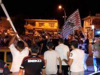 Anamurlu Beşiktaşlılar'dan muhteşem şampiyonluk kutlaması