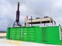Silifke'de 'çöp'ten elektrik üretimi başladı
