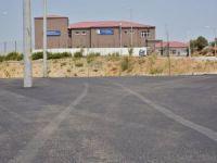 Yüksekokul Otoparkı Sıcak Asfalt İle Kaplandı