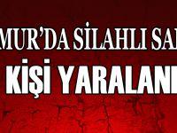 ANAMUR'DA SİLAHLI SALDIRI 2 KİŞİ YARALANDI