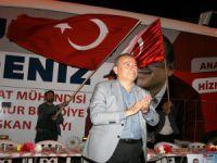 GÜZELYURT'TA ERKEN MİTİNG