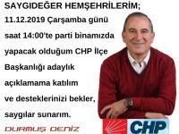 DURMUŞ DENİZ'DEN HERKESE DAVET
