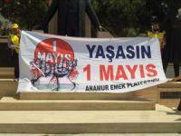 Anamur Emek Platformu tarafından 1 Mayıs İşçi ve Emekçi Bayramı kutlandı