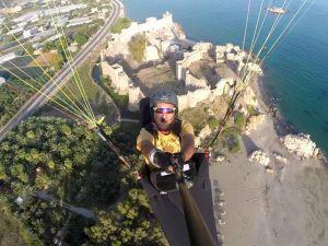 Anamur'da yamaç paraşütüne ilgi artıyor